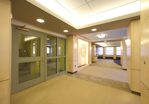John snyder architects syracuse university lyman hall - Cornell university interior design program ...